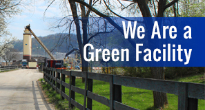 we are a green facility